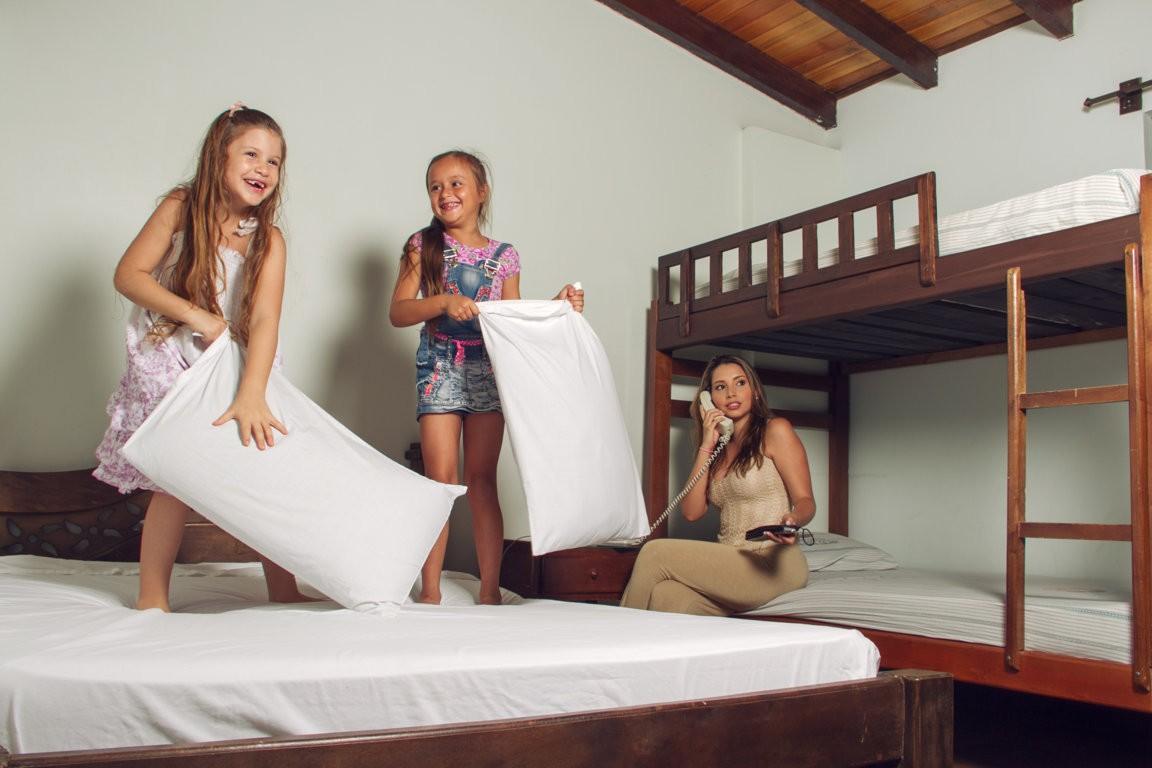 Habitaciones hotel lago calima